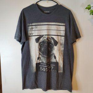 CHEMISTRY PUG Shirt L